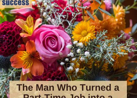 image of bouquet of flowers with title: