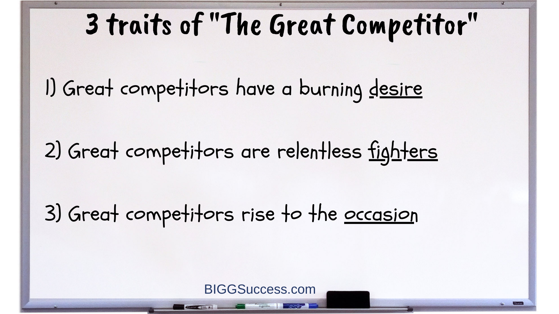 Whiteboard 1068 3 Traits of The Greatest Competitor
