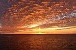 Sunset on the Bering Sea