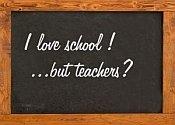 I love school...but teachers?