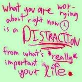 distraction | BIGG Success