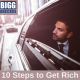 10 steps to get rich blog post image