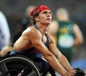 Josh George after a gold medal winning race | BIGG Success