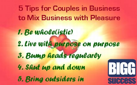 5 tips for couples in business_BIGG Success