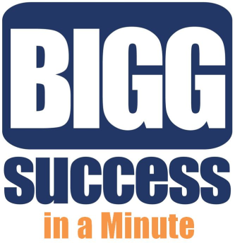 BIGGG Success in a Minute Logo