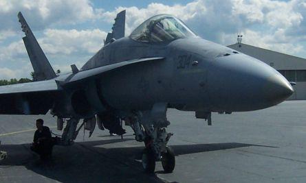 US Navy Hornet