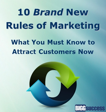 10 Brand New Rules of Marketing
