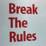 Break the Rules-thumb