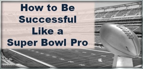 how to be a success like a sports champ