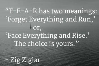 Zig Ziglar F-E-A-R Quote_featured