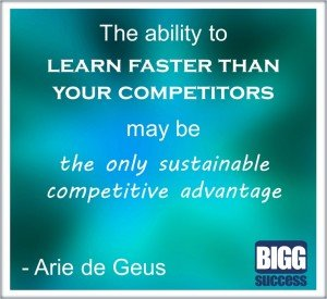 Learn faster for a competitive edge - Business Development - BIGG Success