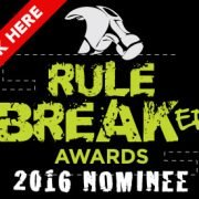 Rule Breaker Awards 2016 Badge