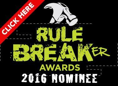 Rule Breaker Awards 2016 Badge