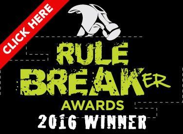 Rule Breaker Awards 2016 Winner Badge