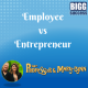 employee vs entrepreneur feature image