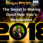 The Secret to Making  Good New Year's Resolutions