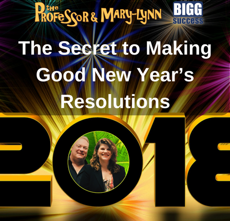 The Secret to Making Good New Year Resolutions Blog and Podcast Image