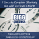 7 Steps to Complain Effectively Blog Image
