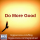 Do More Good blog image of an eagle soaring in the glow of the sun