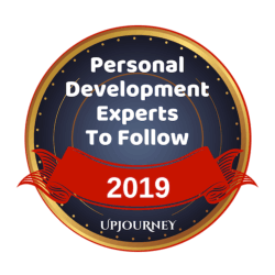 Personal Development Experts To Follow Badge via UpJourney
