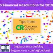 5 Financial Resolutions blog image