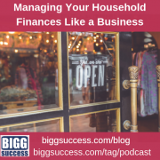 managing household finances like a business blog image