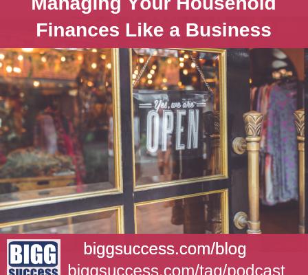 managing household finances like a business blog image