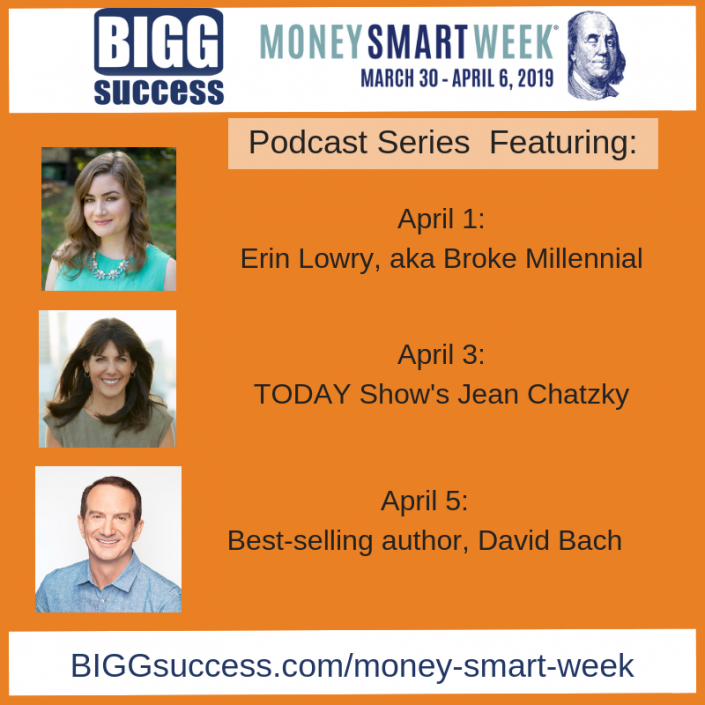 Money Smart Week podcast guests
