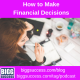 ow to make financia decisions blog post image
