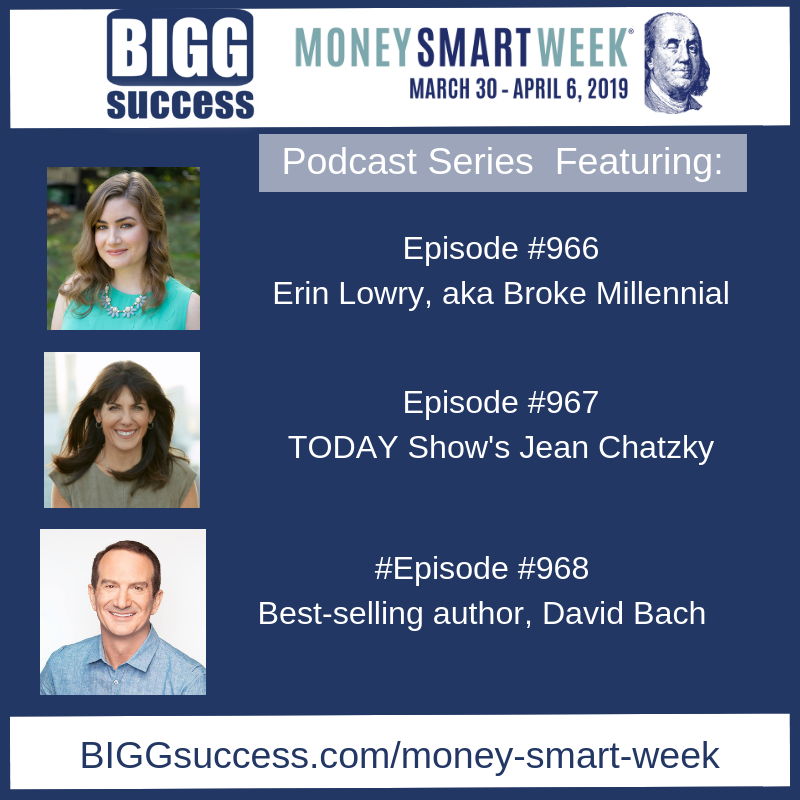 Money Smart Week podcast series episode numbers