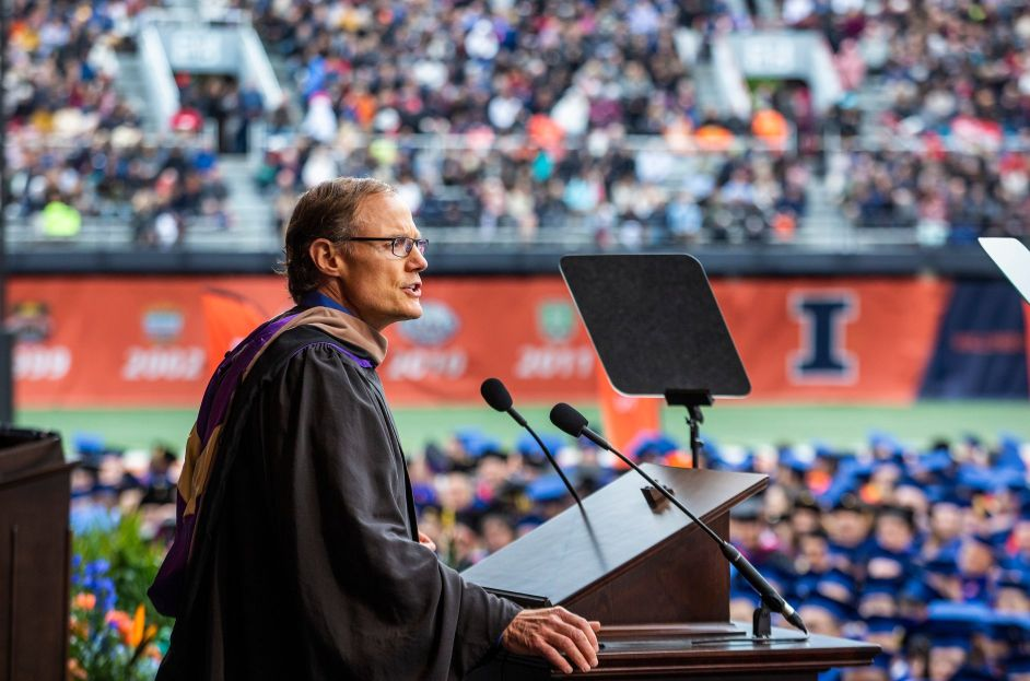 Larry Gies Commencement Address University of Illinois 2019