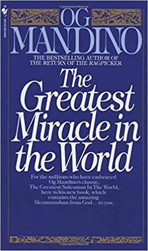The Greatest Miracle in The World book cover