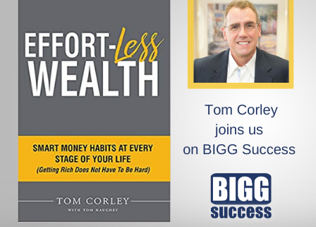 Tom Corley Effortless Wealth book cover
