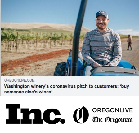 Kiona Vineyards makes headlines Inc and Oregonian Live