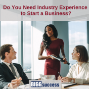 business people meeting with blog post title do you need industry experience