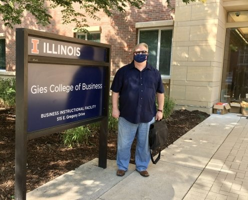 George Krueger at Geis College of Business Fall 2020