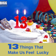 13 Things that make us feel lucky blog post image