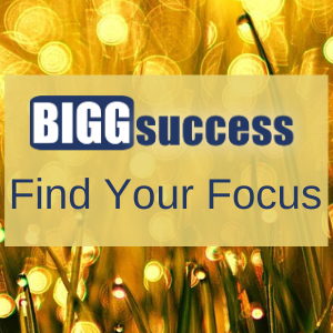 Find Your Focus banner sidebar