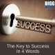 image of key with the word success on it