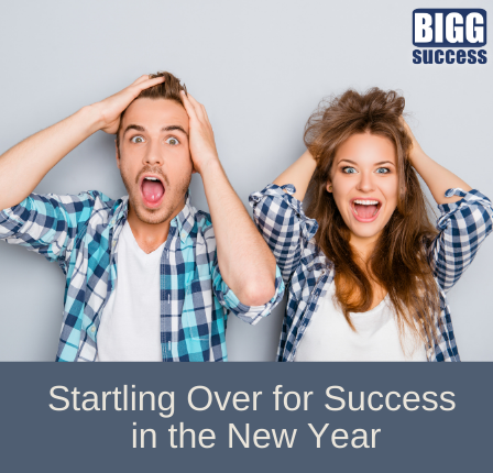2 people look suprised with the blog post title startling over for success in the new year