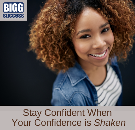 image of a confident woman