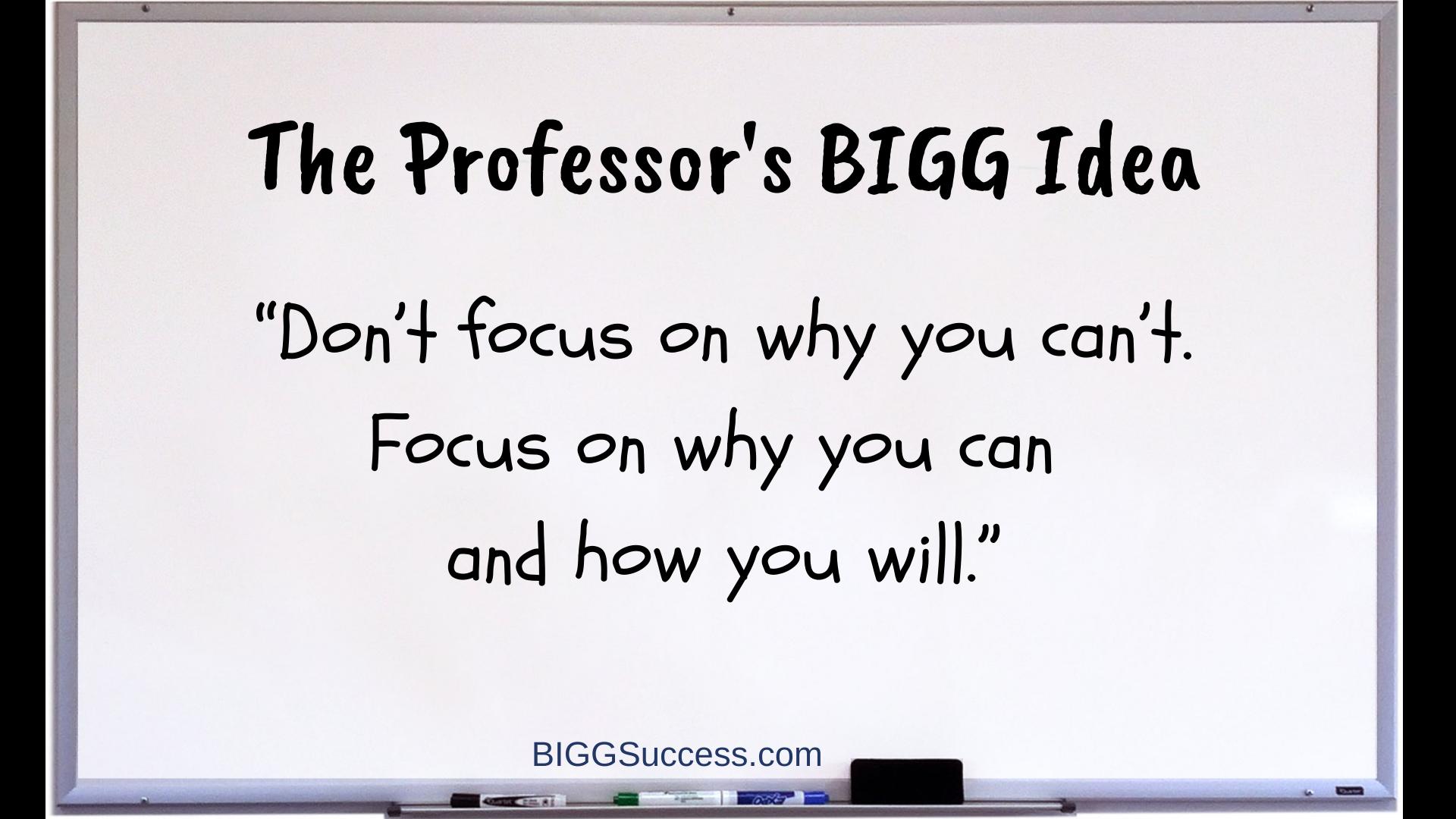 1074 Whiteboard bigg idea to dream bigger