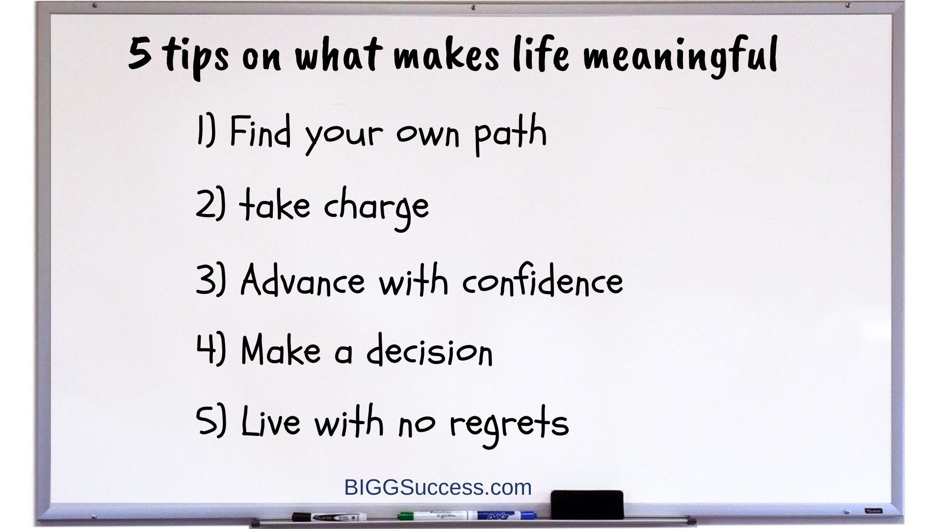 Whteboard 1075 5 tips on what makes a life more meaningful